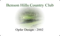 Benson Hills logo