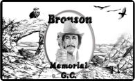 Bronson Memorial GC V2 logo