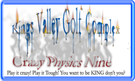 Kings Valley GC - Crazy Physics Nine logo