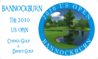Bannockburn - The 2010 U.S. Open logo