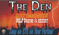 Dizzys Madness - The Den logo