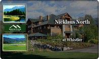 Nicklaus North @ Whistler logo