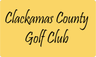 Clackamas County Golf Club logo