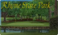 Rhyme State Park logo