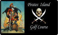 Pirates Island Golf Course logo