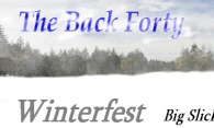 The Back Forty - Winterfest logo