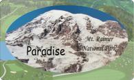 Paradise Mt. Rainier logo