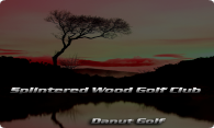 Splintered Wood Golf Club logo
