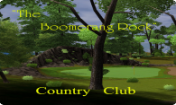 The Boomerang Rock Country Club logo