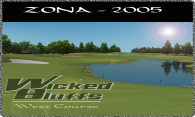 Wicked Bluffs West Course logo