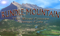 Rundle Mountain - The River Course logo