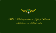 The Metropolitan Golf Club logo