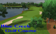 Blue Creek Golf Course logo