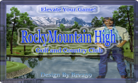Rocky Mountain High G & CC (u&#112dated) logo