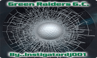 Green Raiders G. C. logo
