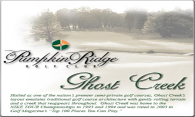 Ghost Creek at Pumpkin Ridge logo