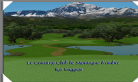 Le Country Club de Montagne dombre logo