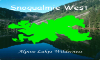 Alpine Lakes - Snoqualmie West logo