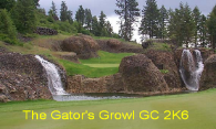 The Gators Growl GC 2K6 logo