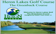 Greenback at Heron Lakes logo
