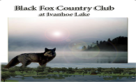Black Fox CC at Ivanhoe logo