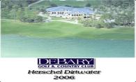 DeBary Golf and CC logo