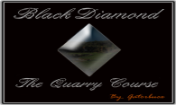 Black Diamond - The Quarry Course logo