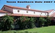 Texas Southern Univ logo