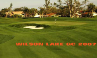 Wilson Lake GC logo