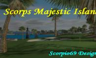 Scorps Majestic Island logo
