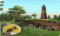 Pelican Lighthouse Golf Resort logo