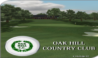 Oak Hill Country Club 2007 logo