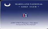 Maryland National Golf Course logo
