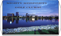 Mighty Mississippi Golf Club 08 logo