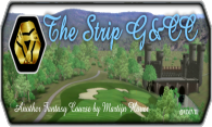 The Strip G&CC logo