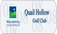 Quail Hollow Golf Club 08 logo