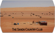 The Sands Country Club logo