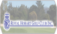 Royal Hobart Golf Club logo