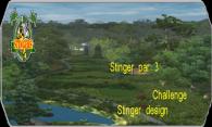 Sting par 3 challenge logo