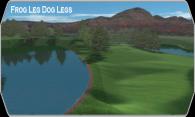Frogs Leg Dog Leggs logo