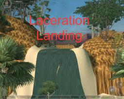 Laceration Landing logo