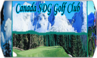 Canada SDG Golf Club logo