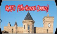 Rojo (The Desert Course) logo