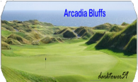 Arcadia Bluffs Golf Course logo
