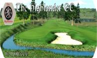 The Highlander Golf Club logo