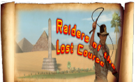 Raiders of the Lost Course logo