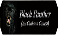 Black Panther (An Outlaws Course) logo