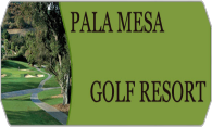 Pala Mesa Golf Resort logo