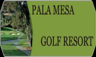 Pala Mesa Golf Resort logo