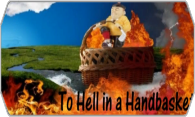 To Hell in a Handbasket logo